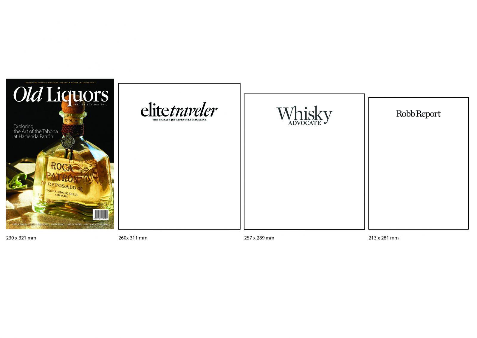 Comparing Magazine sizes