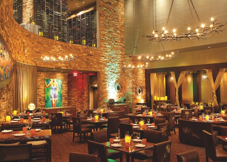 Guest Wined and Dined at Renowned Aureole Restaurant in Las Vegas