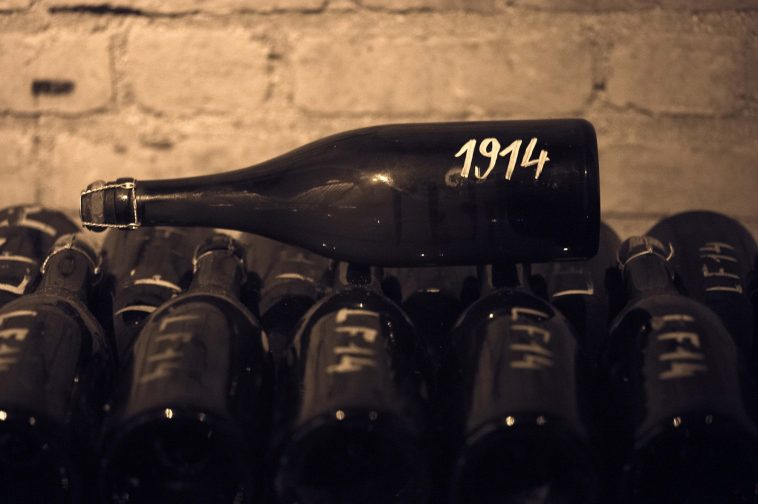 1914 Bollinger Bottle