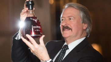 Dalmore's champagne-finished 50-year vintage single malt