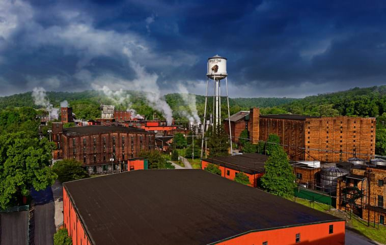 Buffalo Trace Distillery grounds