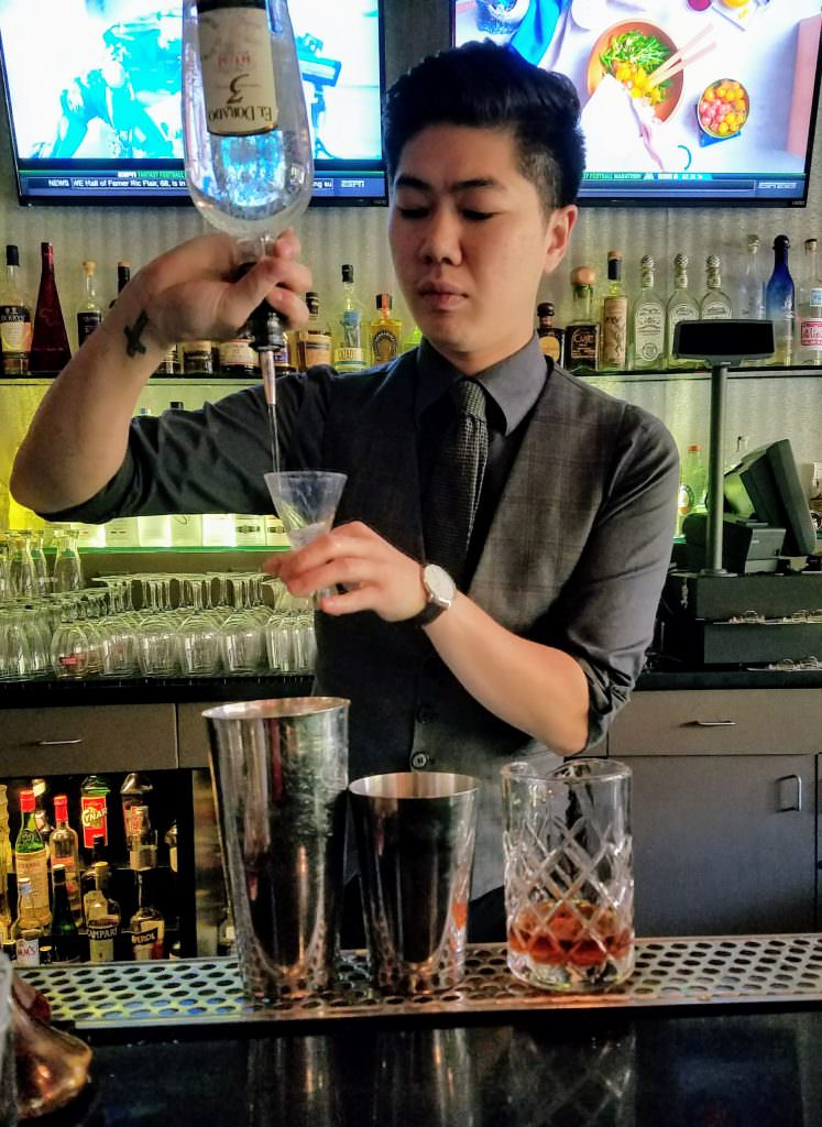 Mixologist Andrew Yang (Photo Credit: Aleza Freeman)