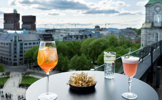 Eight Rooftop Bar - Oslo