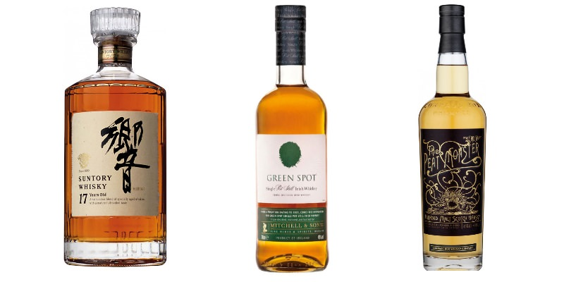 Suntory Hibiki | Green Spot | The Peat Monster