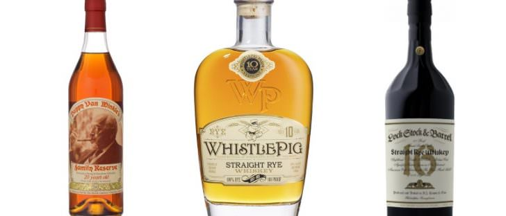 Pappy Van Winkle's Family Reserve | Whistlepig | Lock Stock & Barrel