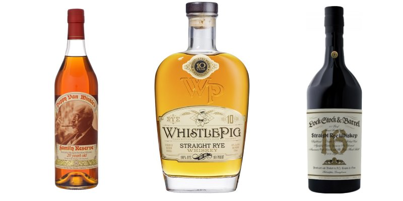 Pappy Van Winkle's Family Reserve | Whistlepig | Lock Stock & Barrel