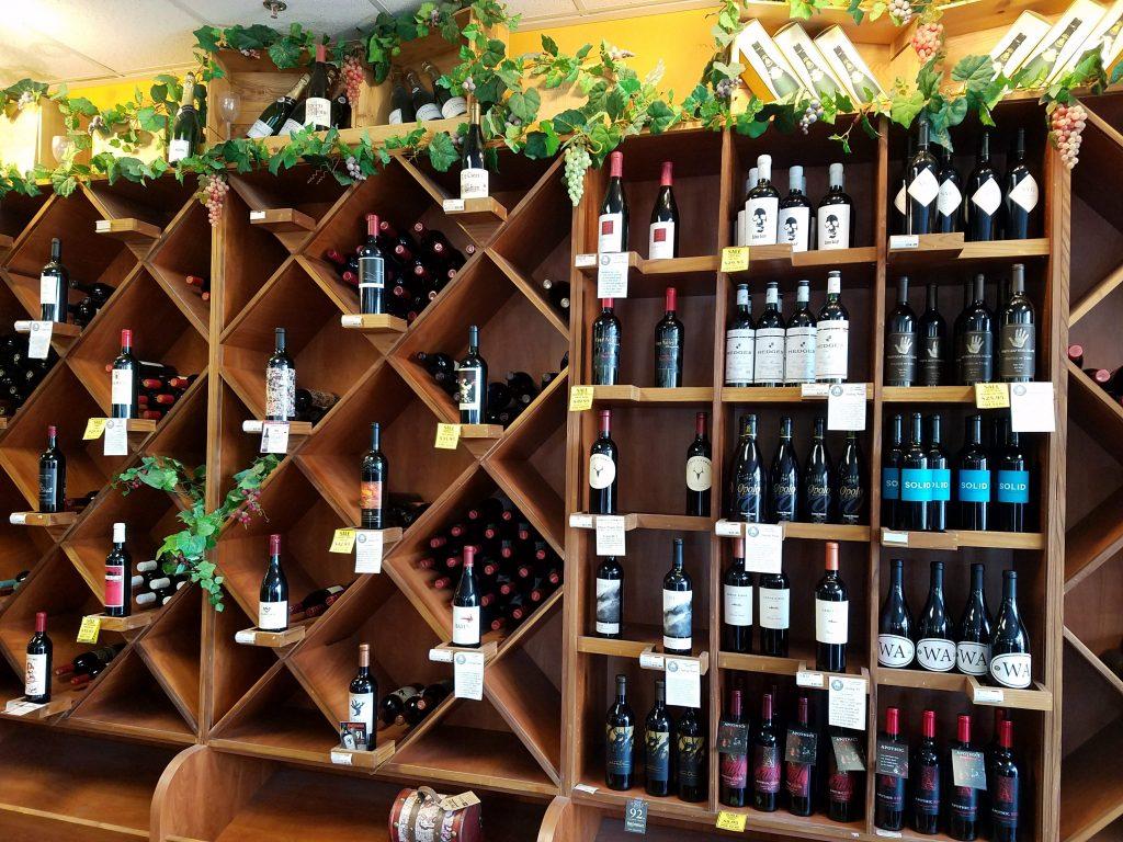 A wine wall (Source: Aleza Freeman)
