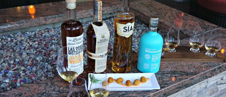 A Selection of Whiskeys (Photo Credit: Rob Kachelriess)