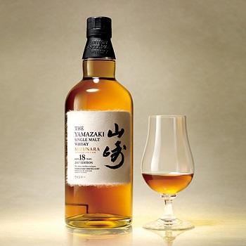18-year-old limited edition of the Yamazaki Mizunara single malt