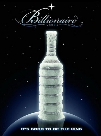 Billionaire Vodka by Leon Verres ($3.7 million per bottle)
