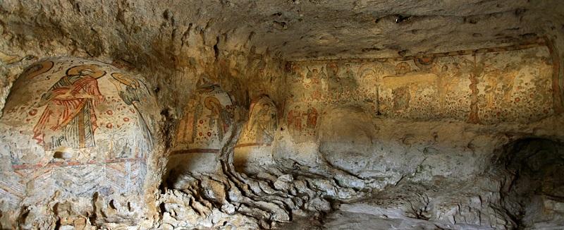 Matera, La Cripta del Pelccato