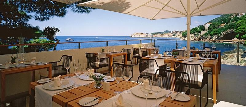 Villa Dubrovnik, restaurant