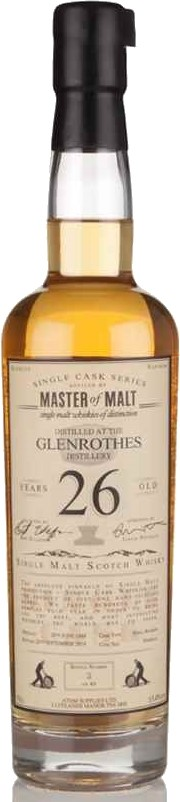 Glenrothes 26 Year Old 1988 Single Cask Master of Malt