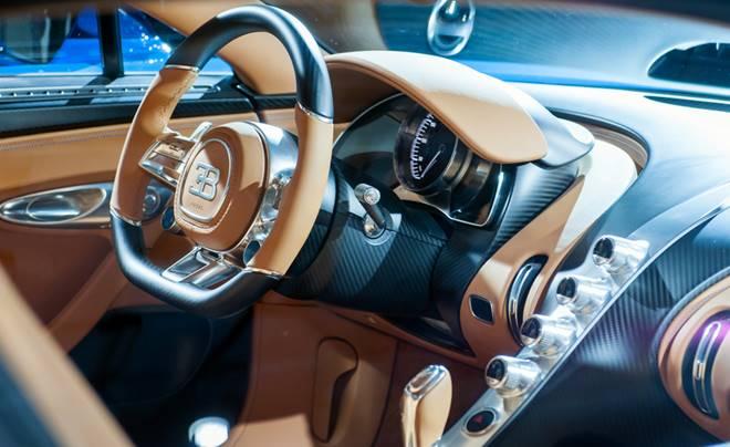 2018 Bugatti Veyron Interior