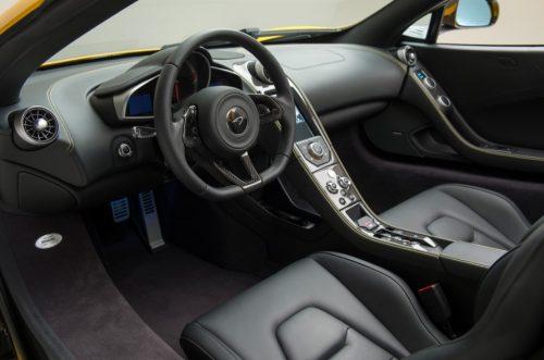 2018 McLaren P14 interior