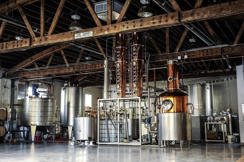 Ann Arbor Distillery, photography Steph Harding