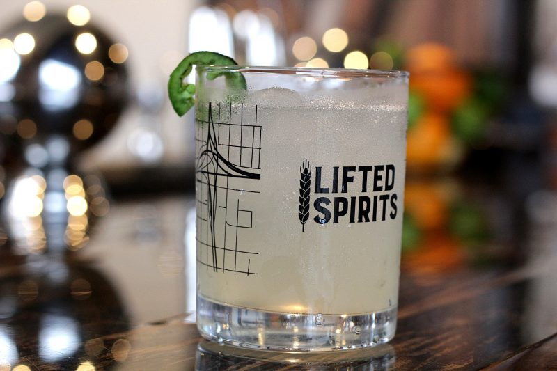 Lifted Spirits Distillery's, Wild East Cocktail
