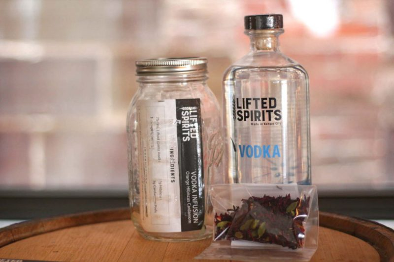 Lifted Spirits Distillery's Vodka