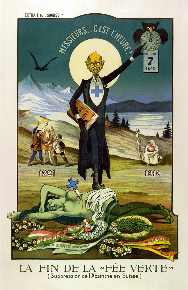 Absinthe Prohibition Poster
