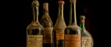 Old Liquors Collection, Armagnac bottles