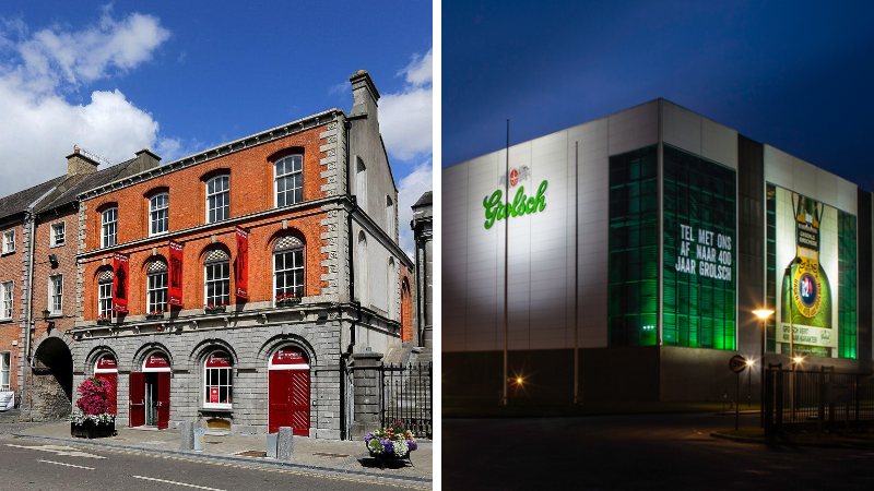 Smithwick's Brewery and Grolsch Brewery