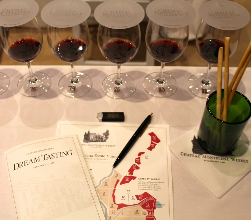 The Dream Tasting begins. Photo Michael Cervin