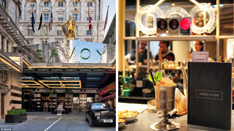The American Bar at The Savoy in London